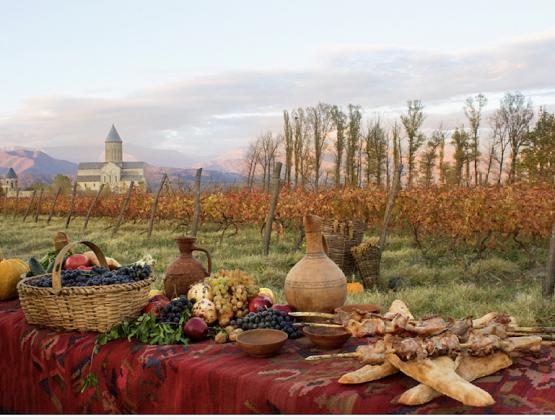 General principles of wine and meals pairing/ღვინის და კერძის შეხამების ზოგადი პრინციპები/Общие принципы сочетания вина и блюд